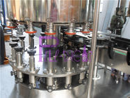 12 Heads Linear Rotary Can Filling Machine For Juice / Milk / Tea Drink