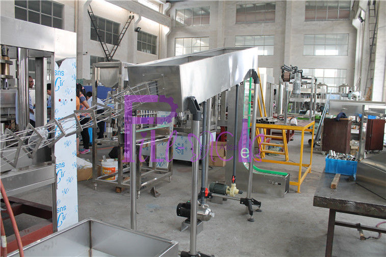 Empty Aluminum Can Filling Line - Beverage Aluminum Can Rinser SUS304 With CE