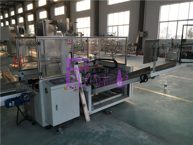 Electric Bottle Filling Machine 1Phase Low Noise for Carton box sealing
